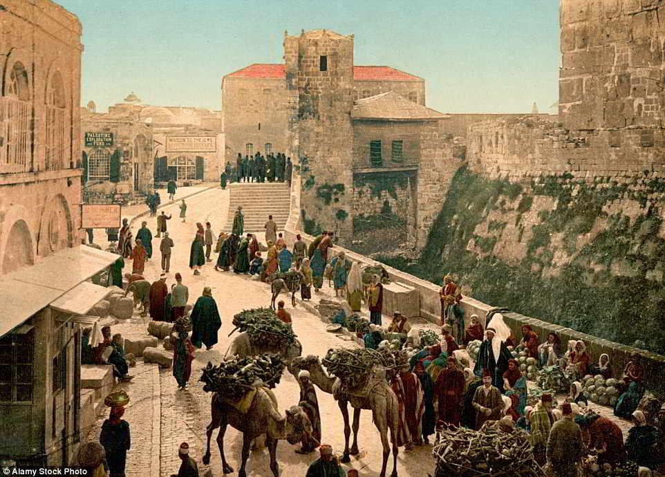 Ảnh hiếm về cuộc sống ở phía đông Địa Trung Hải hơn 100 năm trước