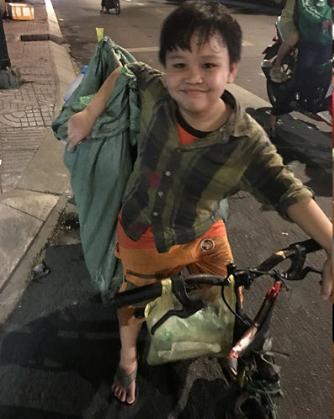 Cậu bé Bình chánh 9 tuổi